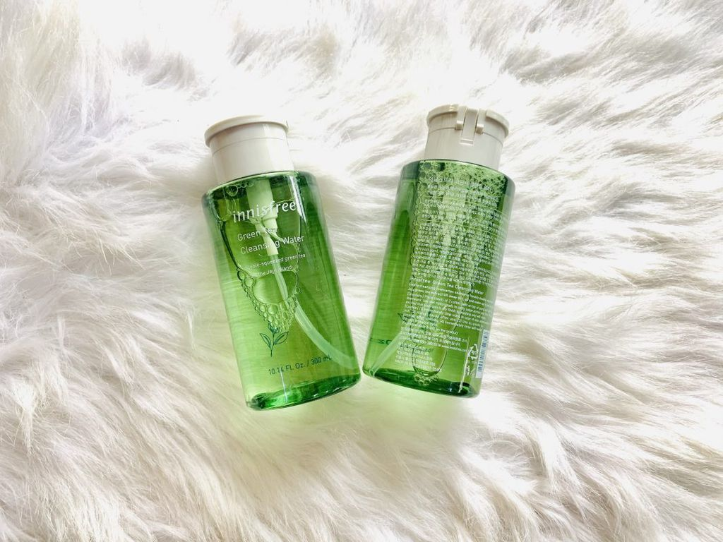 """nước tẩy trang """"Innisfree Green Tea Pure Cleansing Water"""" chiết xuất 100% từ tự nhiên (trà xanh)"""